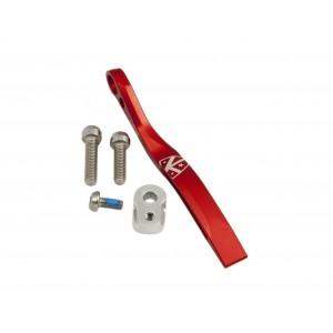 K-Edge, K13-002-GUN, Pro Road Braze-On Chain Catcher