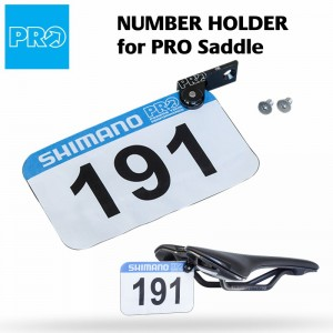 PRO Race Number Holder Integrated Mount